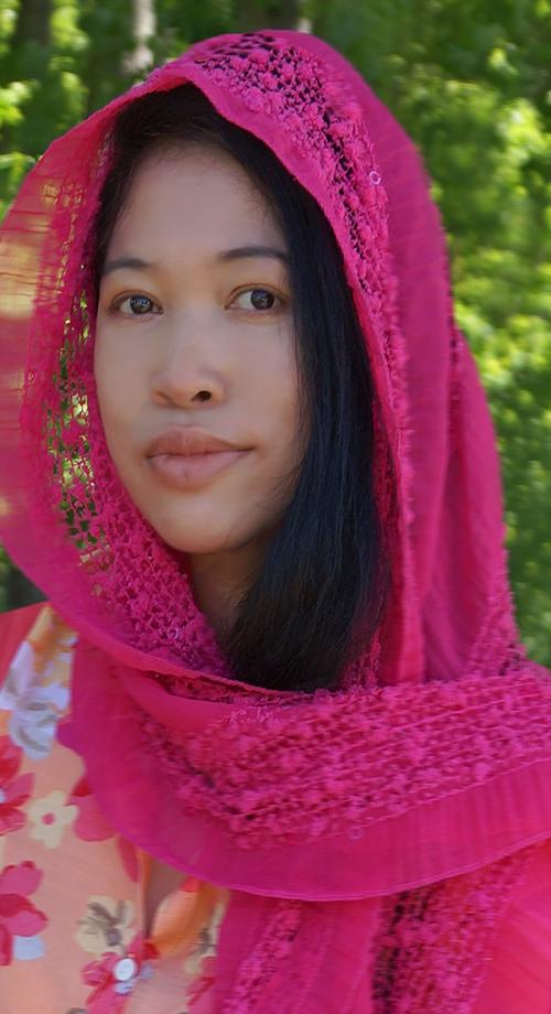 jendhamuni pink scarfnature
