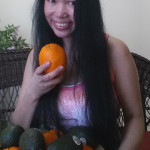 Jendhamuni smiling with fruits