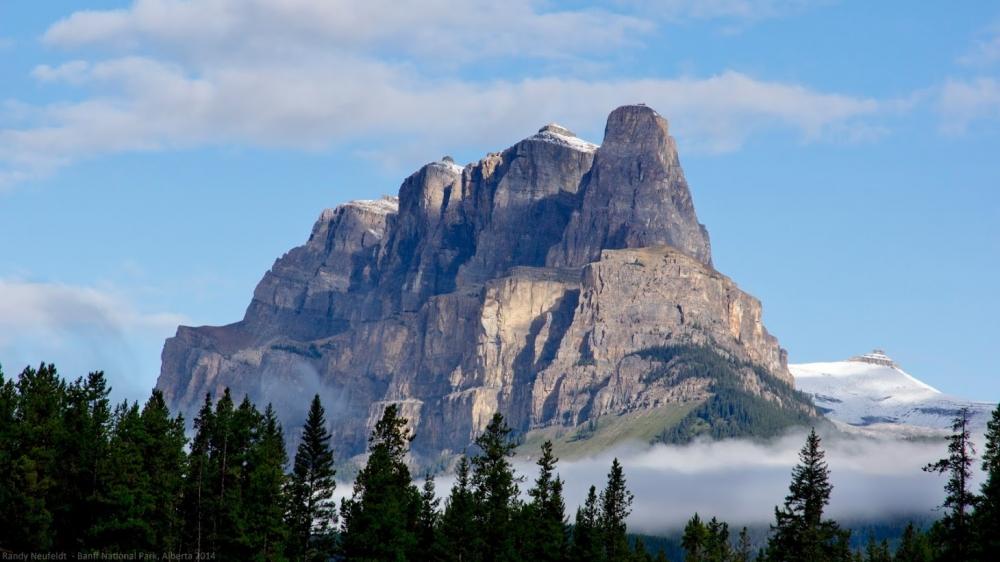 Castle Mountain - Banff National Park. Photo credit: Randy Neufeldt