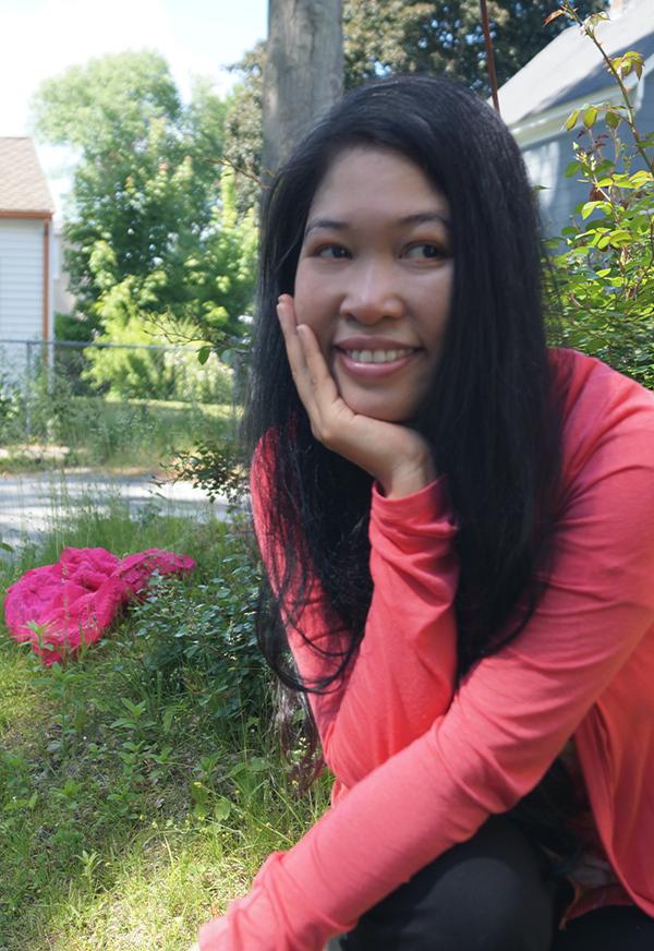 Jendhamuni smiling