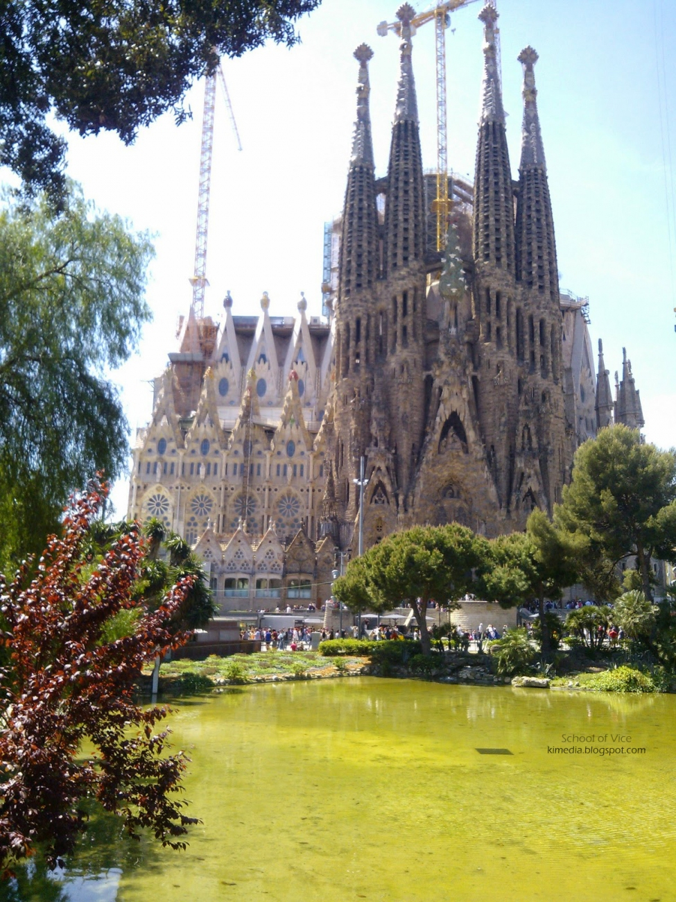 La Sagrada Familia - The first stone was laid 100 years ago and is still a work in progress. Photo credit: School of Vice/KI Media